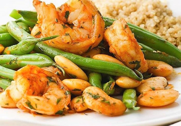 ginger-garlic-prawns-with-green-beans