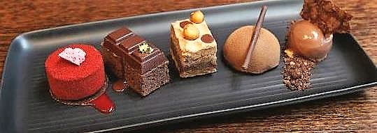 sweet chocolate degustation