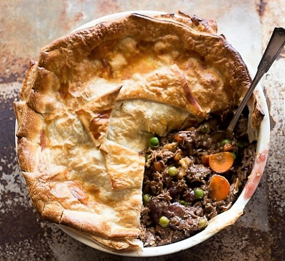 beef and burg pie