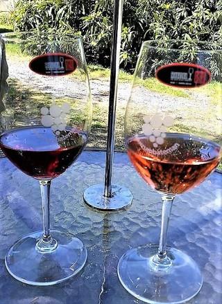 Reidel wine glass