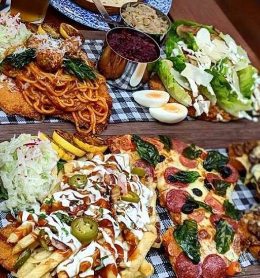 Bavarian platters